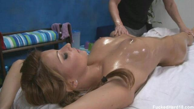 sexy blonde anal 1